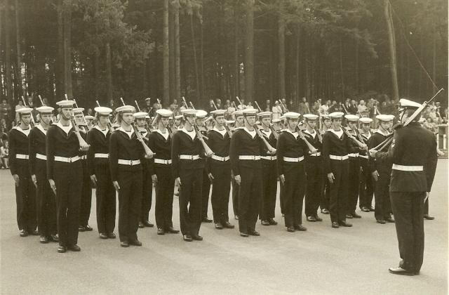 Baksfoto Hilversum opleiding 1972