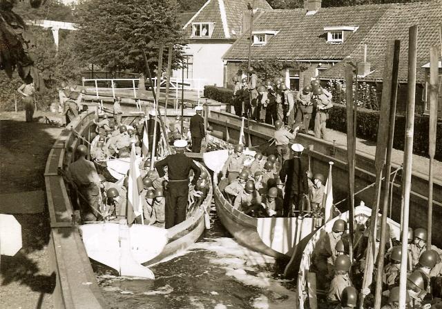 Hilversum opleiding meindertsesluis 1 1972